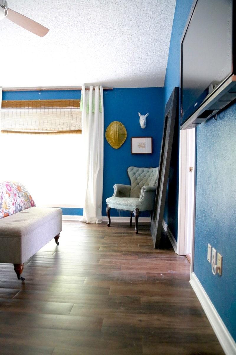 Best flooring for bedrooms: vinyl plank flooring