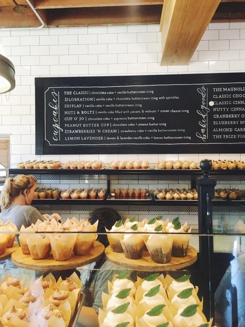 Visiting Magnolia Market bakery