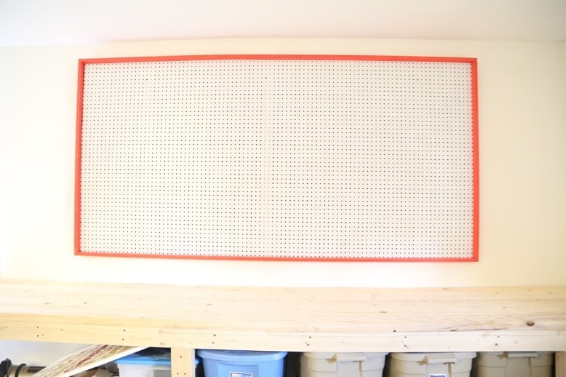 hanging giant pegboard