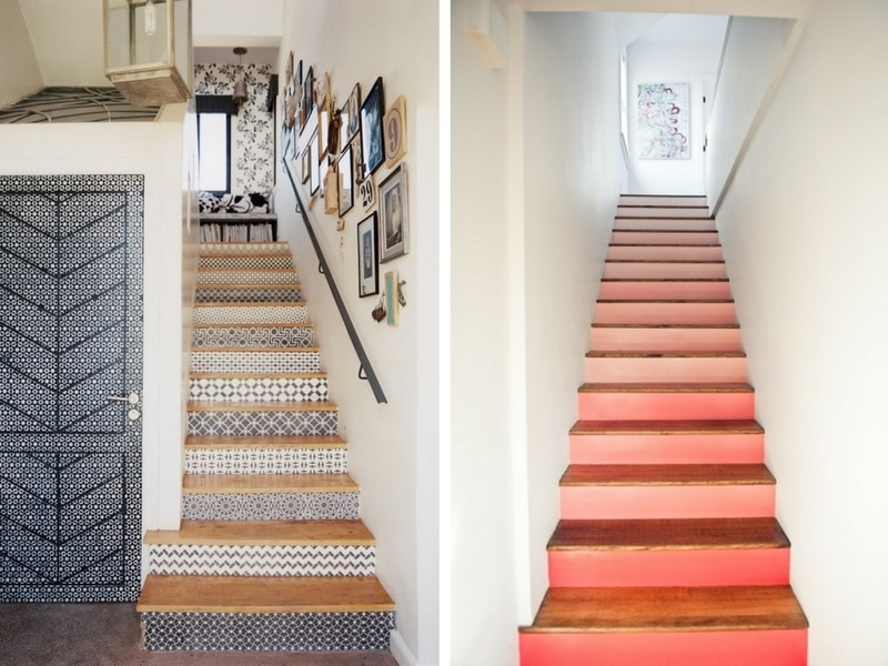 Easy staircase makeover ideas