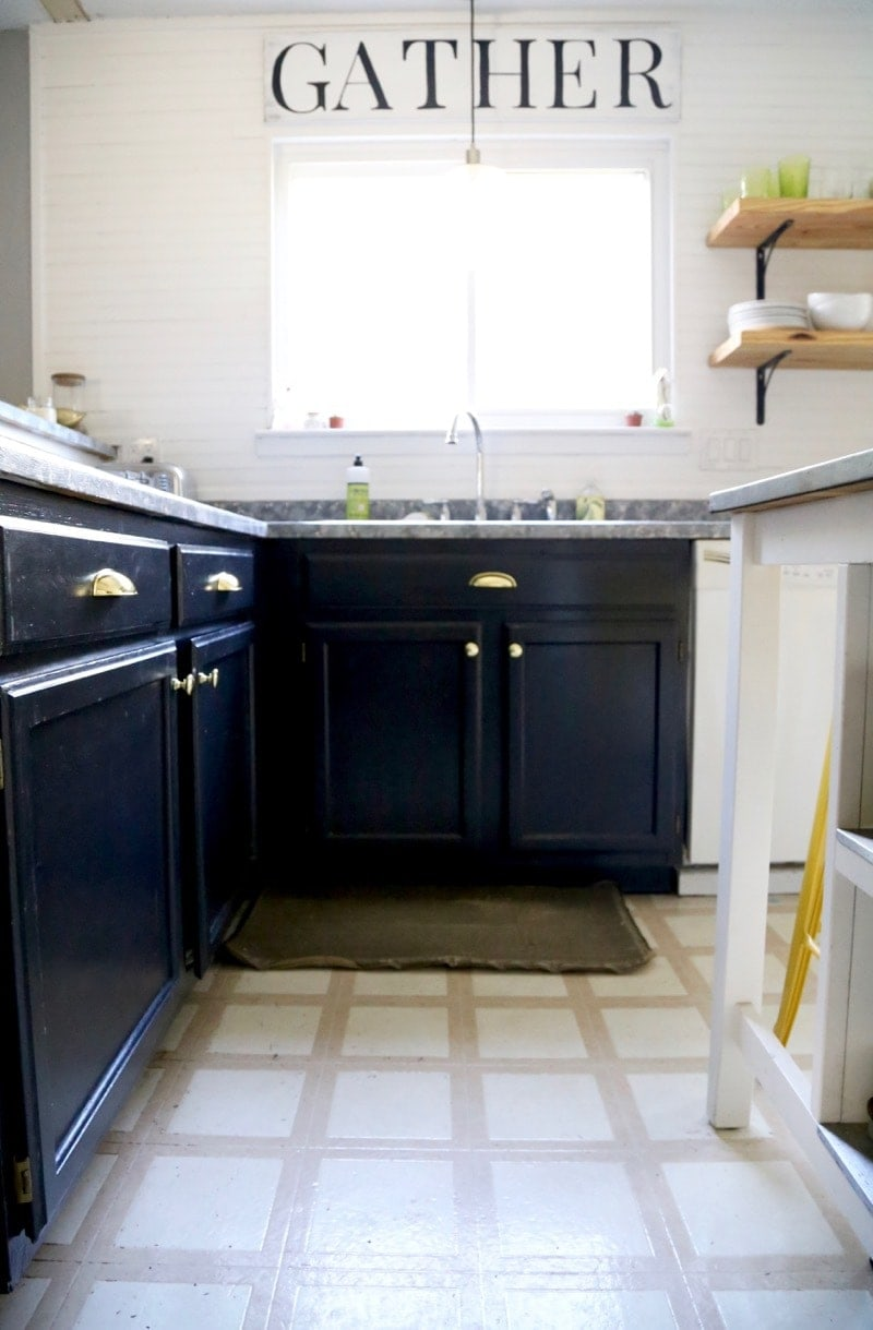 should you paint your kitchen countertops?