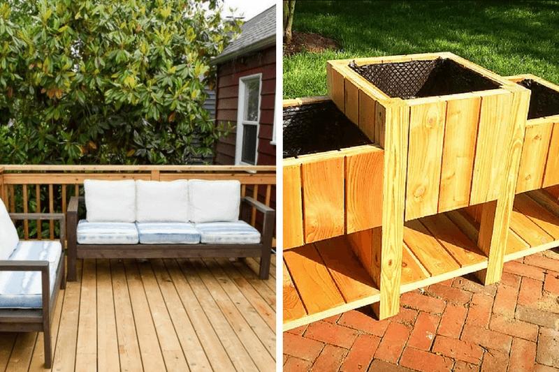 Gorgeous DIY outdoor furniture ideas