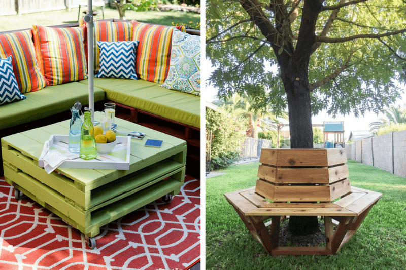 Diy Outdoor Furniture 12 Great Ideas Love Renovations