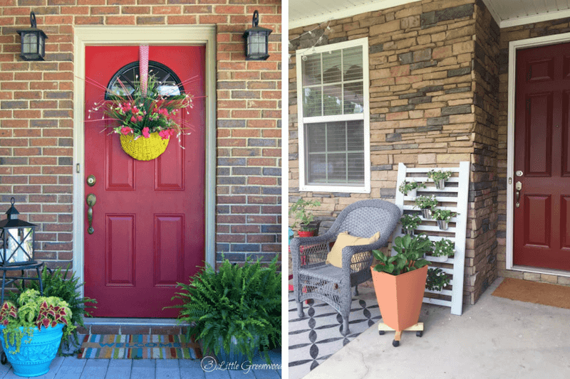 12 WelcomingSmall Front Porch Ideas - Love & Renovations