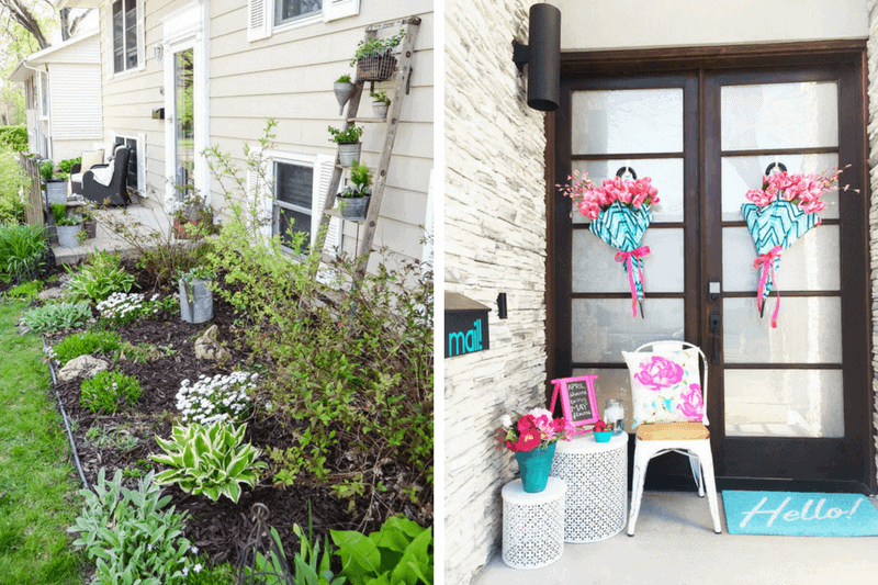 Tips for decorating a small front porch