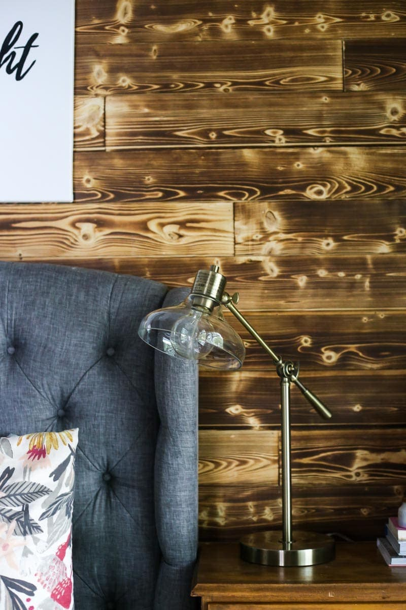 How to make a DIY wood plank wall