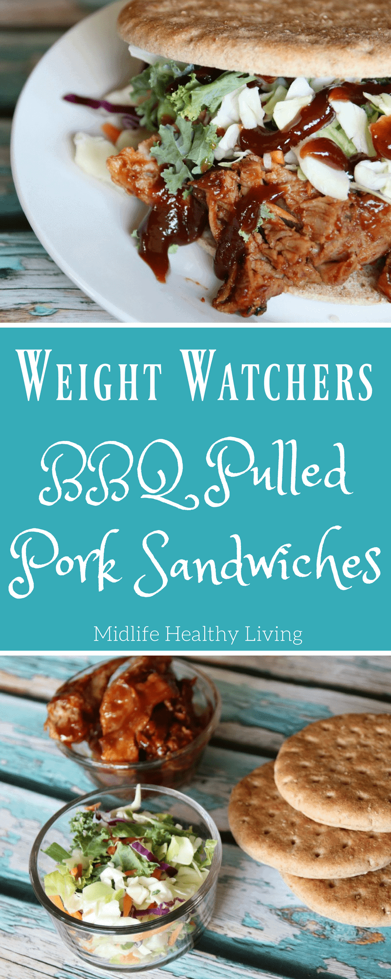 I am excited to share with you my Weight Watchers BBQ Pulled Pork Recipe. A delicious recipe simple to make with minimal ingredients!