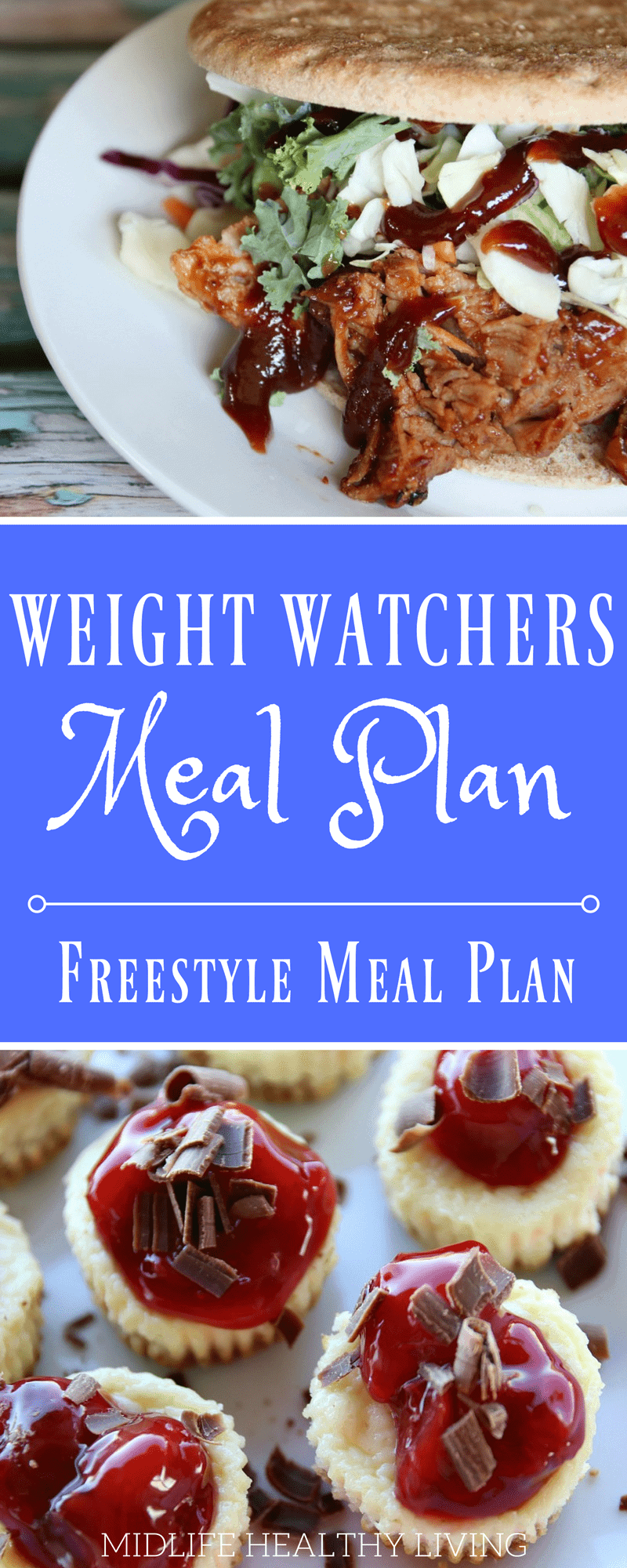 One of the things that has helped me see success is a Weight Watchers meal plan. Meal plans are a great way to keep track of your points before you eat them! I like knowing how many points I'll need to get through my day.