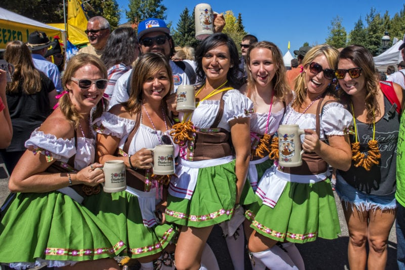 Oktoberfest in Breckenridge