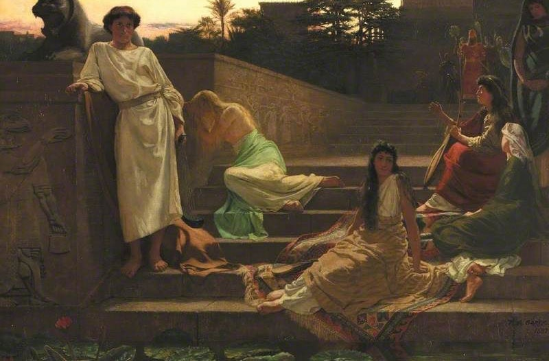 Thomas Bowman Garvie - By the Waters of Babylon (1887)