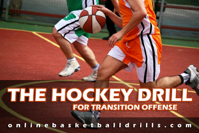 TRANSITION OFFENSE HOCKEY DRILL