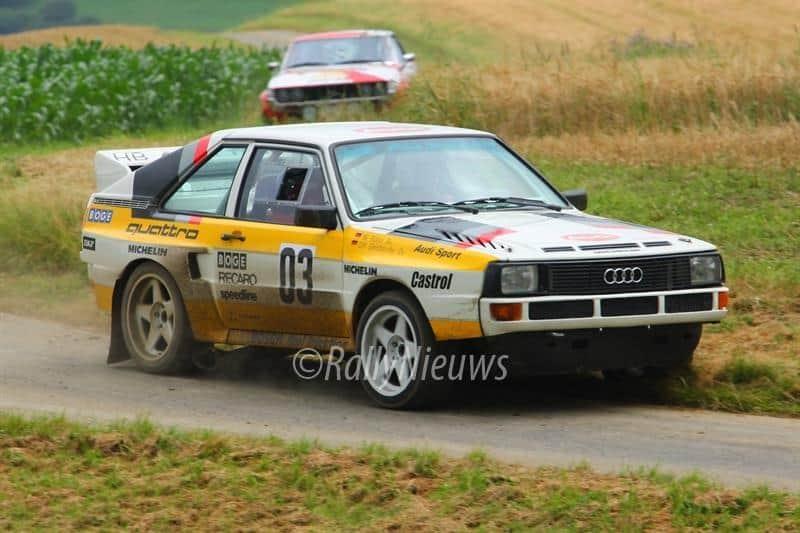 Audi Quattro - ADAC Eifel Rallye Festival