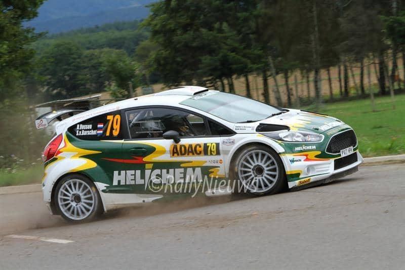 Henk Vossen & Sander van Barschot - Ford Fiesta R5 - ADAC Rallye Deutschland 2017