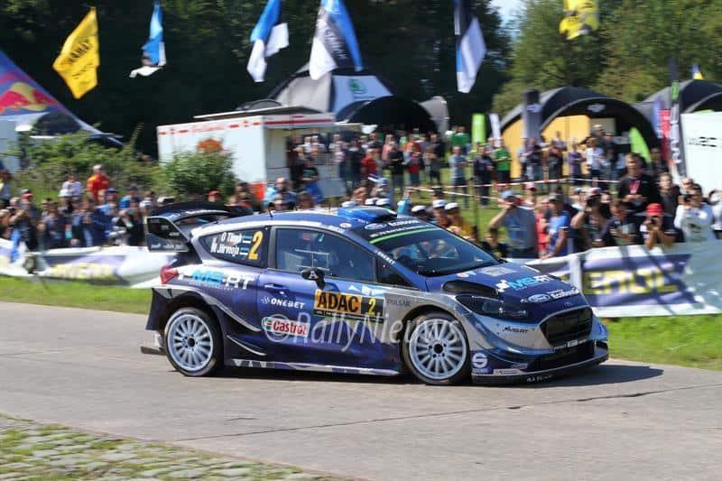Ott Tanak - Ford Fiesta WRC - ADAC Rallye Deutschland 2017