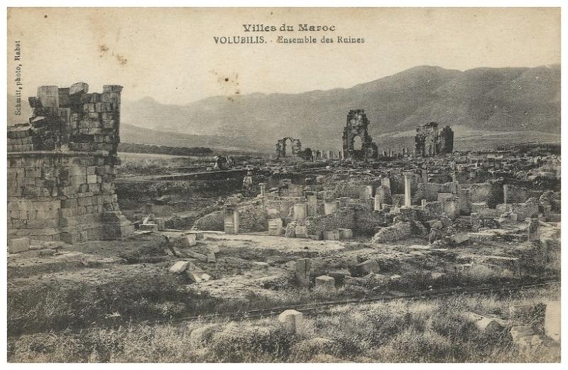 Schmitt, Volubilis cité romaine