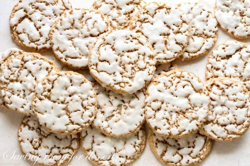 Old-Fashioned Iced Oatmeal Cookies