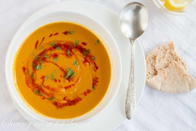 Butternut Squash Lentil Soup-5