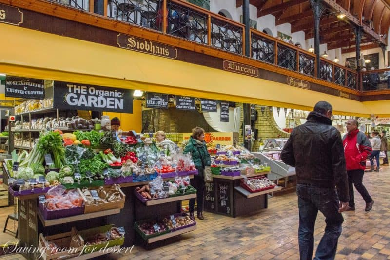Cork Ireland - a visit to The English Market