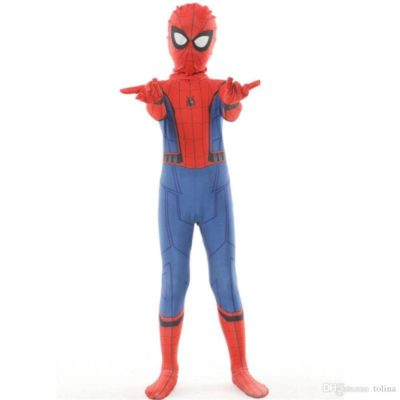 Perfetto costume di Spiderman