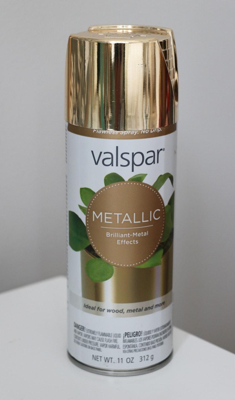 Valspar Gold Spray Paint