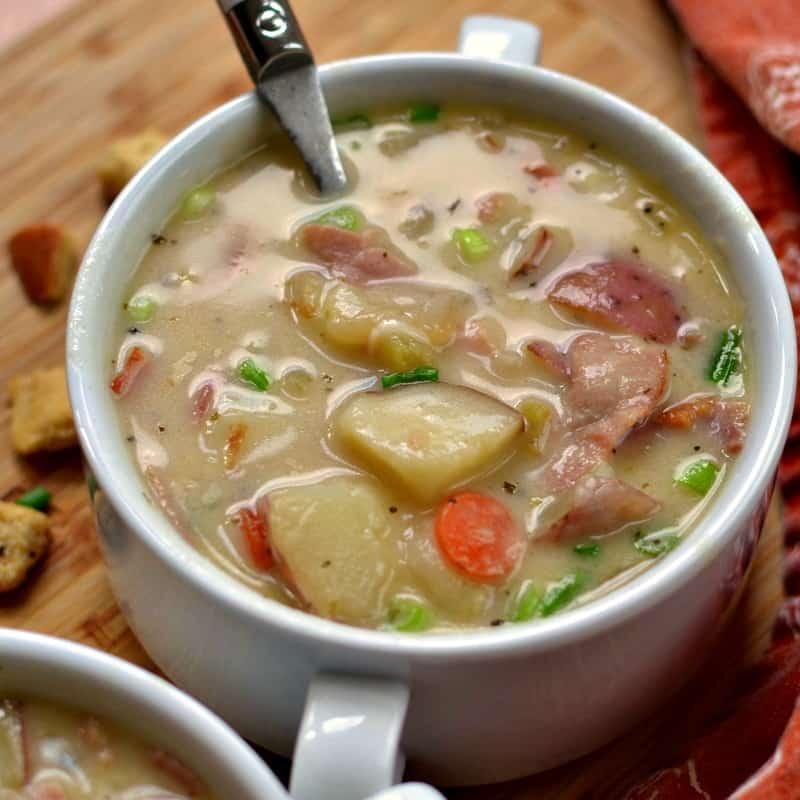 Ham and Potato Soup