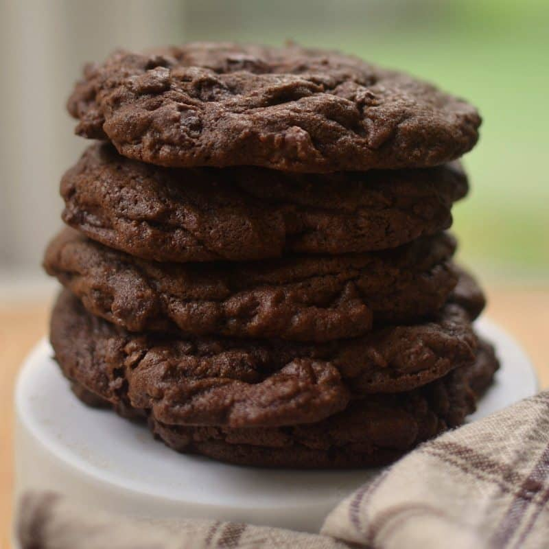 Triple Chocolate Chunck Cookies (2)