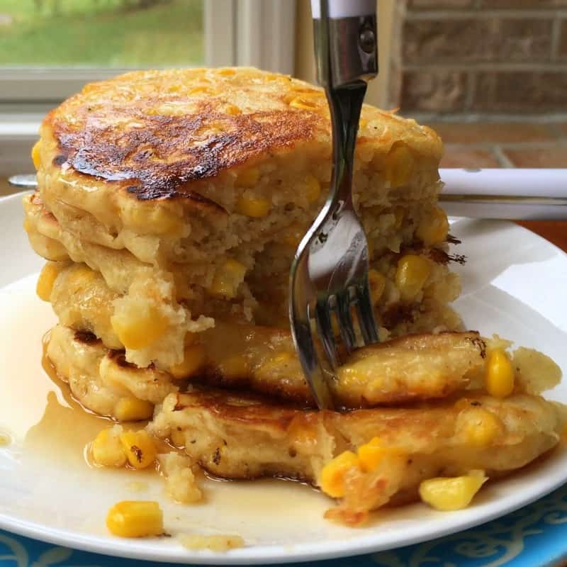 Quick and Crispy Corn Fritters