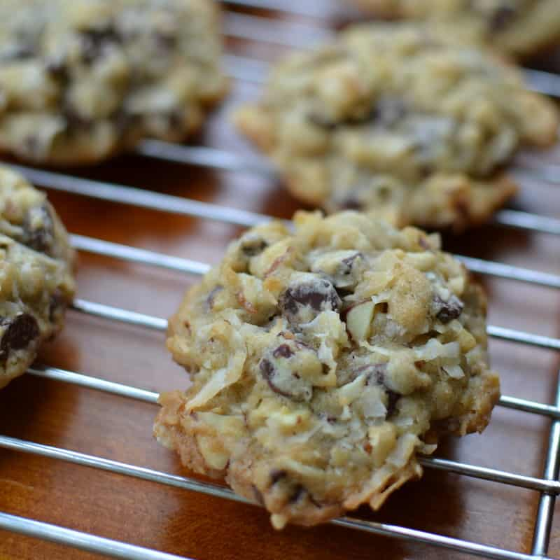 Easy and Delicious Almond Joy Cookies