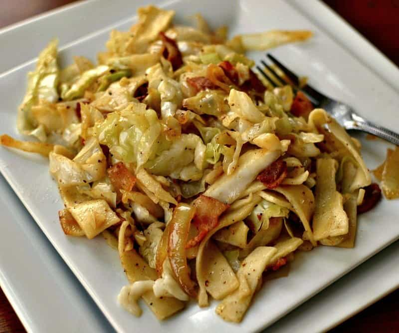 Haluski (Quick and Easy Savory Cabbage and Noodles)