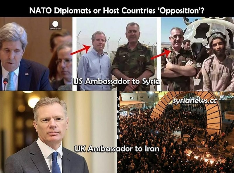 British Ambassador Arrested in Tehran Iran - NATO Diplomats