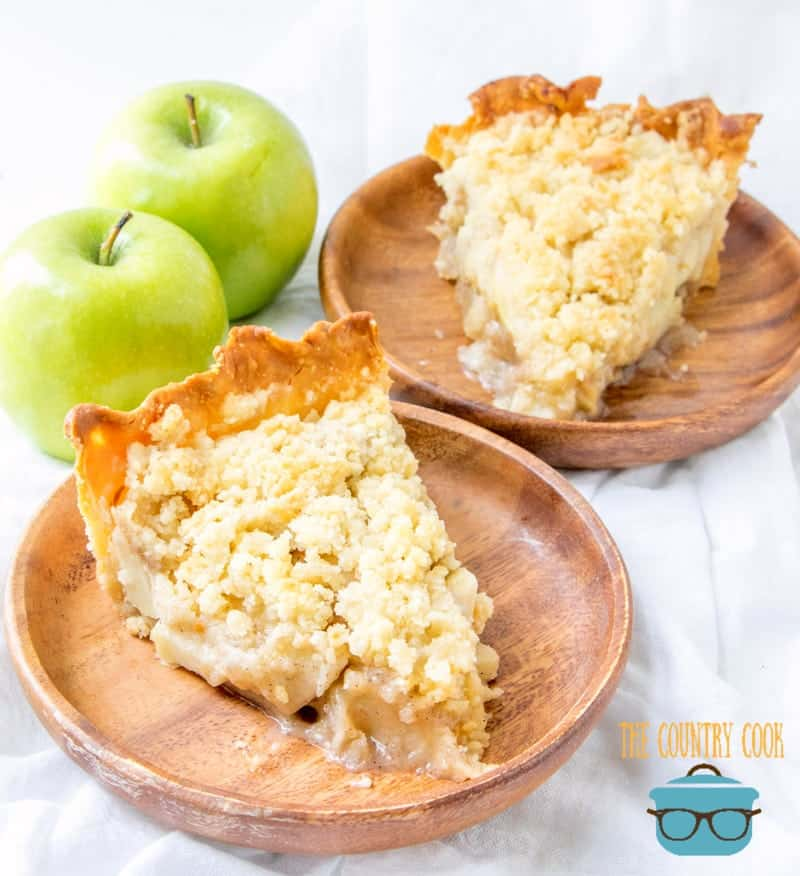 Southern Apple Pie with Streusel Topping recipe