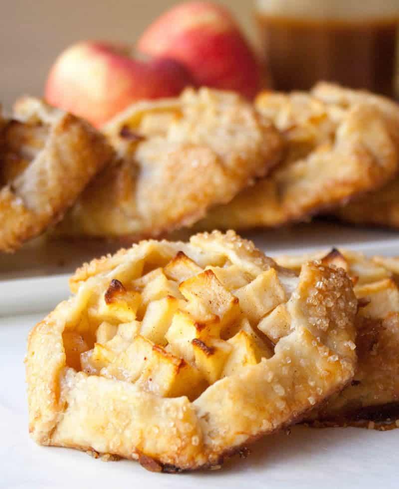 Caramel Apple Crostatas REV-20