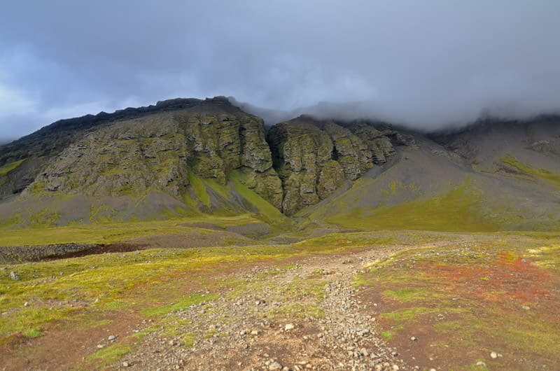 Iceland hike