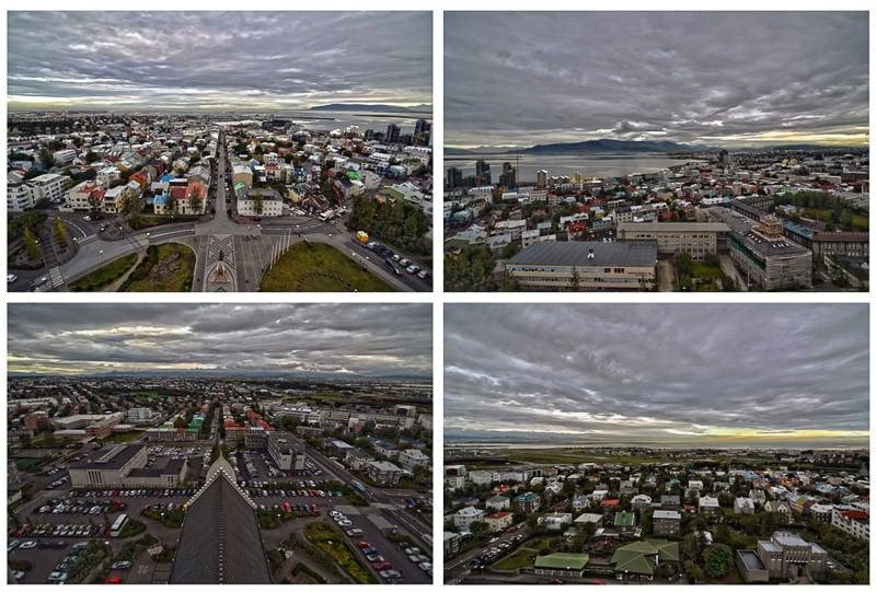 Iceland Reykjavik view
