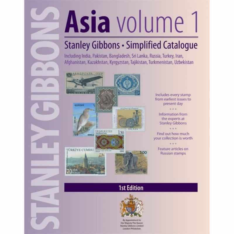 Stanley Gibbons Asia Simplified Stamp Catalogue – Volume 1