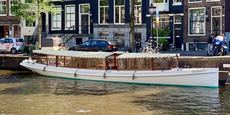Luxe boot huren Amsterdam