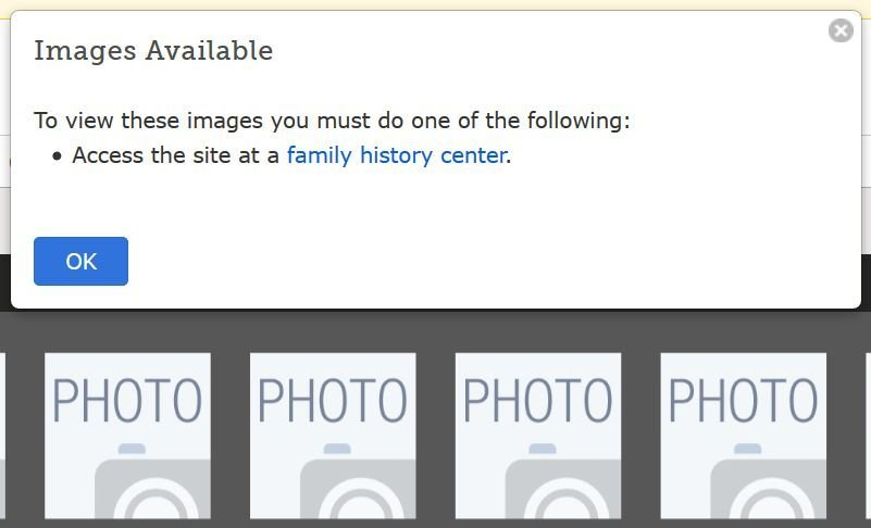 Viewable at Family History Center