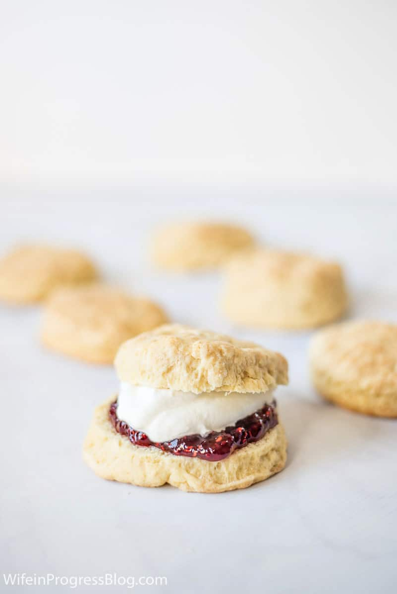 These light and fluffy scones are a traditional Irish recipe. They are a quick bread meaning they don't require yeast so they are really easy to make!