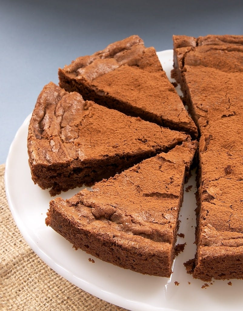 Triple Chocolate Brownie Cake is a must for chocolate fans. With three kinds of chocolate, it's irresistible! - Bake or Break