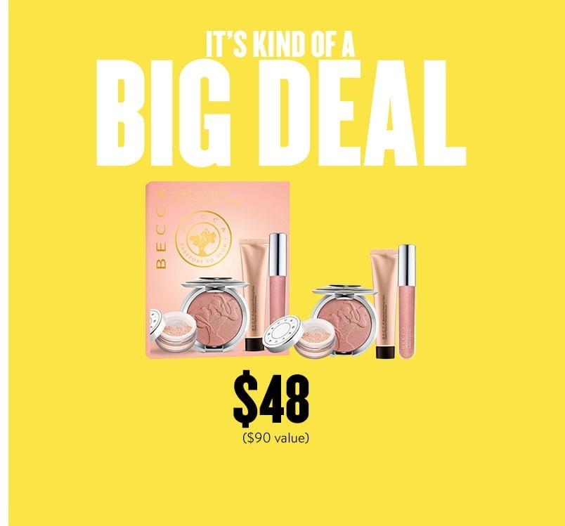 Nordstrom Big Deal - BECCA Rose Glow Luminous Kit