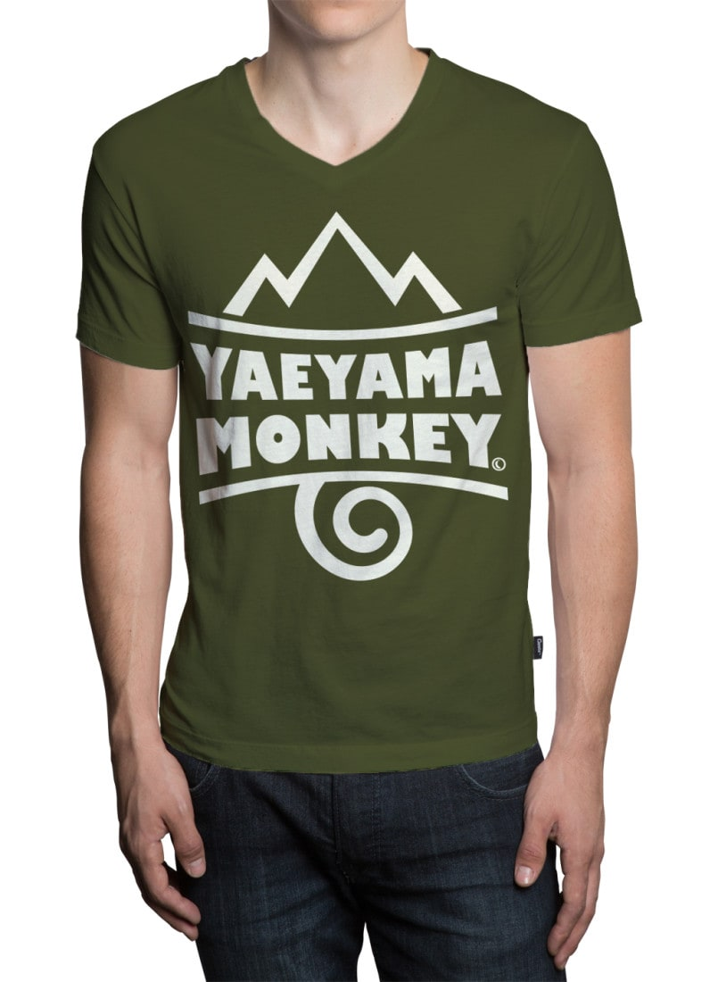 八重山モンキー定番Tシャツデザイン
