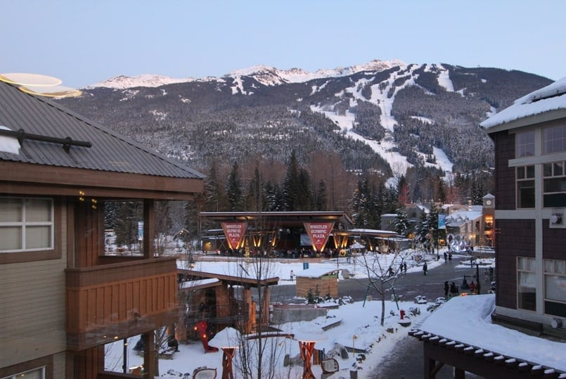 Whistler Marketplace Lodge Plaza View