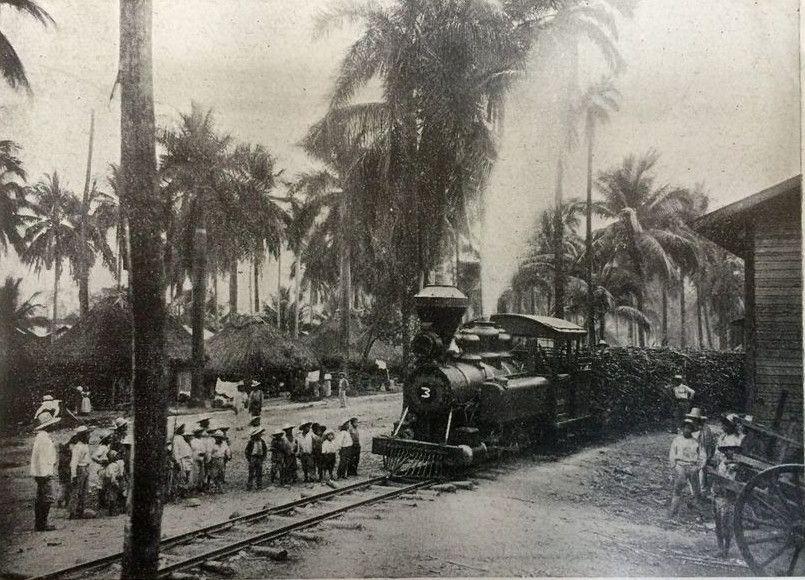Tren del azúcar en Pantaleón