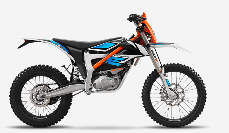 All new 2020 KTM Freeride E-XC electric dirt bike