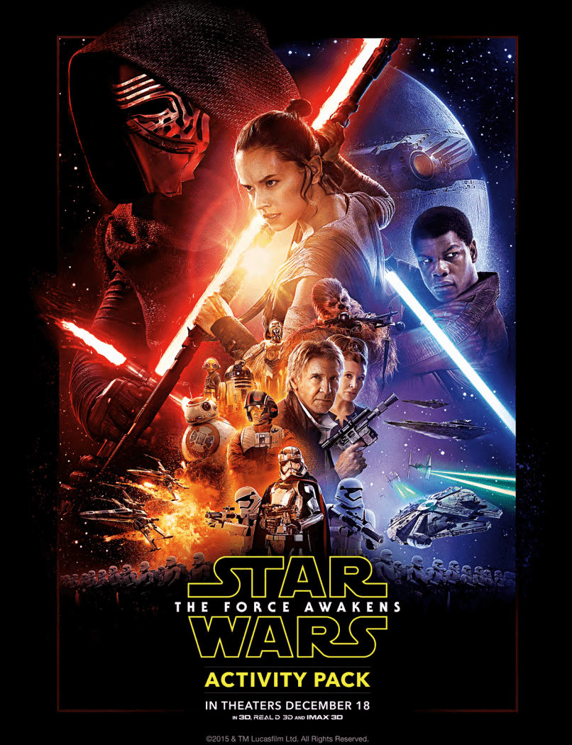 Star Wars: The Force Awakens Coloring & Activity Sheets