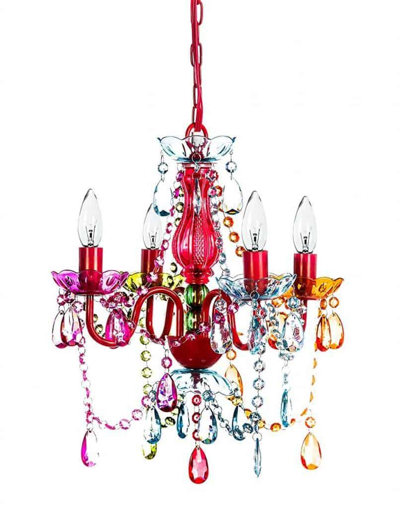 The Original Gypsy Color 4 Light Small Gypsy Chandelier