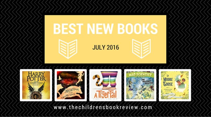 Best New Kids Books - July 2016-2