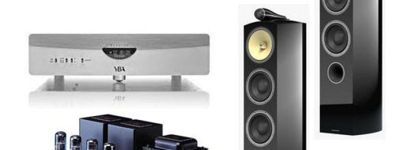 Lecteur YBA CD 430 – Amplificateur Air Tight ATM 1 S – Enceintes acoustiques B & W 804 Diamond