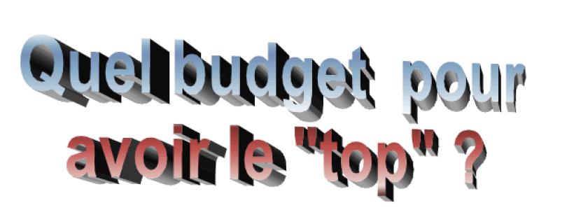 Quel budget pour un ensemble musical de haut niveau ?