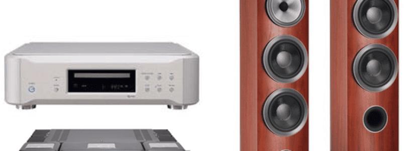 Lecteur CD Esoteric K07 – Amplificateur McIntosh MA7900 – Enceintes Bowers et Wilkins 804 D3